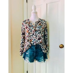 Molly Green | Floral Print Blouse